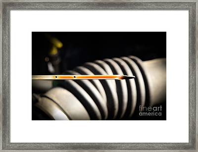 Dipstick Framed Print by Photo Researchers