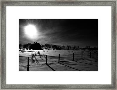 Direction Of Enlightenment  Framed Print by Empty Wall