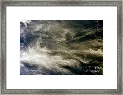 Framed Print featuring the photograph Dirty Clouds by Clayton Bruster