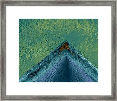 Dirty Corner Framed Print by Volker Steger