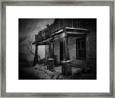Dirty Thirty  Framed Print by Jerry Cordeiro