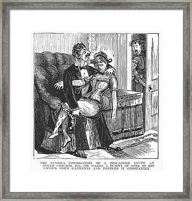 Discarded Lover, 1890s Framed Print by Granger