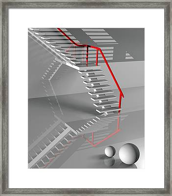 Discernment Framed Print by Richard Rizzo