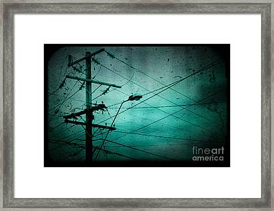 Disconnection Framed Print by Andrew Paranavitana