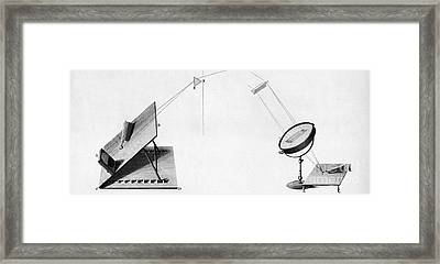 Discovery Of Infrared Radiation In Framed Print by Science Source