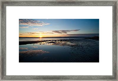 Discovery Park Reflections Framed Print by Mike Reid