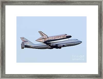 Discovery Framed Print by Rick Mann