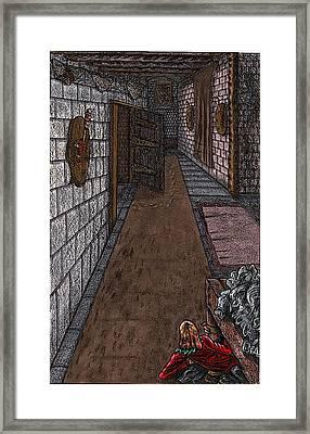 Disembodied Footprints Framed Print by Al Goldfarb