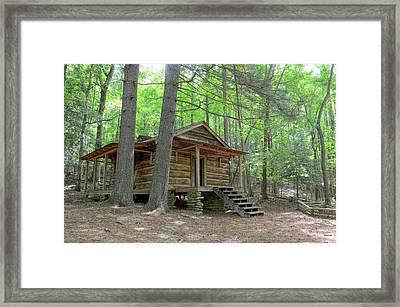 Disharoon Cabin Framed Print by Bob Jackson