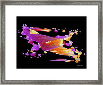 Disintegration Framed Print by Paul Postma