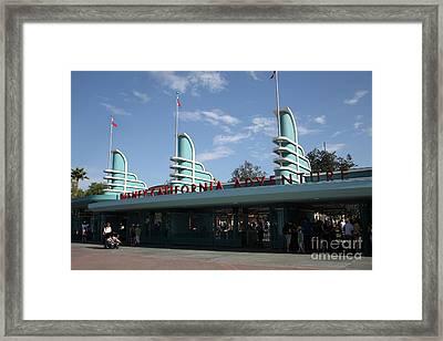 Disney California Adventure - Anaheim California - 5d17521 Framed Print