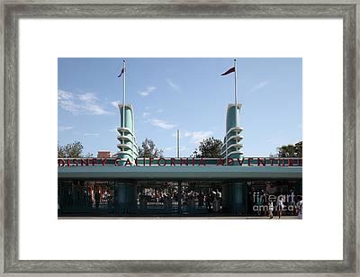 Disney California Adventure - Anaheim California - 5d17522 Framed Print