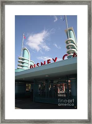 Disney California Adventure - Anaheim California - 5d17527 Framed Print