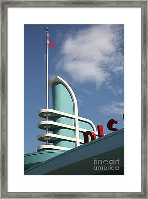 Disney California Adventure - Anaheim California - 5d17530 Framed Print