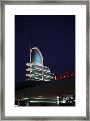 Disney California Adventure - Anaheim California - 5d17766 Framed Print