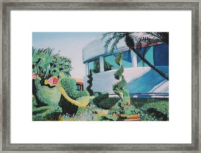 Disney Epcot Topiary Framed Print