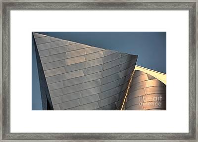 Disney Music Hall IIi Framed Print by Chuck Kuhn