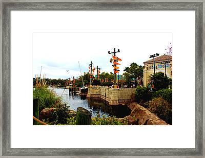 Disney Seaworld Framed Print