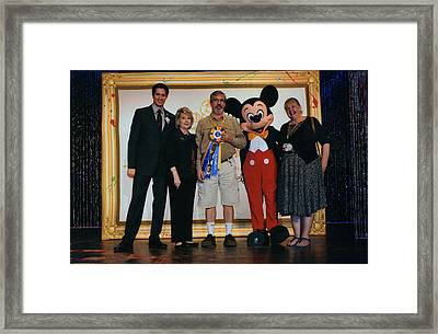 Disney's Festival Of The Masters Framed Print