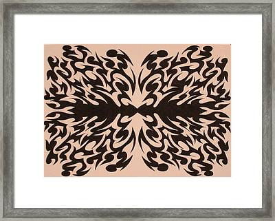 Disoriented Thought Framed Print by Raiyan Talkhani