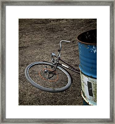 Disposable Framed Print by Odd Jeppesen