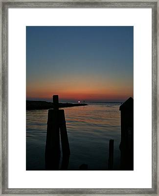 Dissolving Day Framed Print