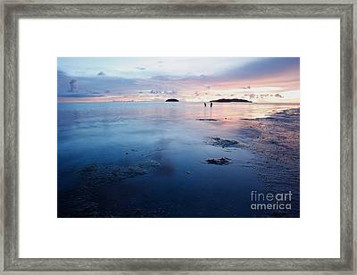 Distant Islands  Framed Print
