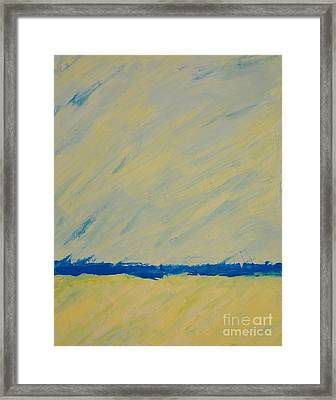 Distant Ocean Framed Print