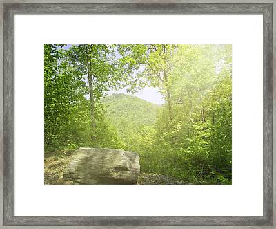 Distant View Framed Print by Cheryl Butler