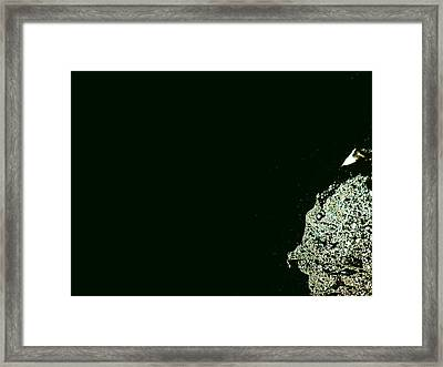 Distantce Framed Print by Robert Cunningham