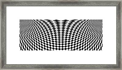 Distorted Perspective  Framed Print by Aiden Galvin