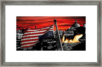 Distress Framed Print by Monday Beam