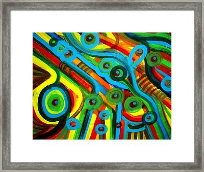 Disturbed Music Framed Print by Aquira Kusume