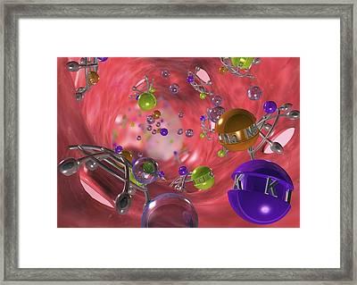 Diuretic Effect, Artwork Framed Print by David Mack