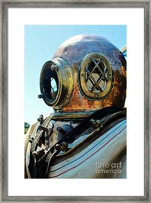 Dive Helmet Framed Print by Rene Triay Photography