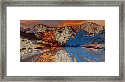 Divided Redux Framed Print