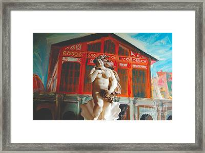 Divina Cucina Framed Print by Judy Witts