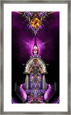 Divine Awakenings 4 Framed Print by Chris Varthalamis