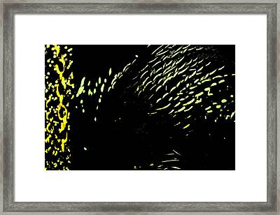 Divine Coexistence And Coinherence Framed Print by Sandra Pena de Ortiz
