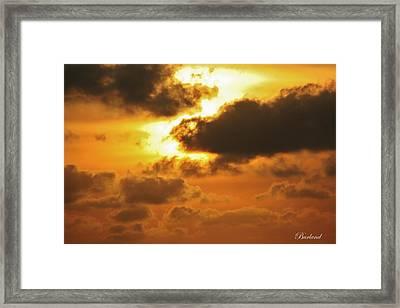 Divine Glory Framed Print