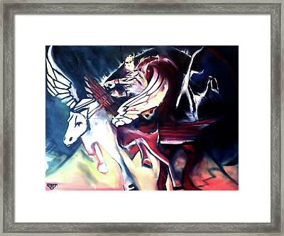 Divine Madness Framed Print