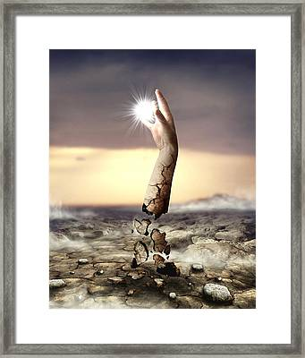 Divine Touch  Framed Print