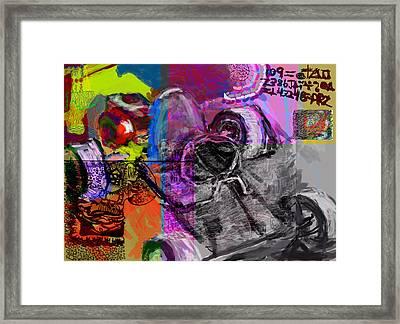 Diy Gokart Framed Print