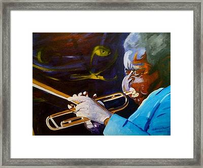 Dizzy Framed Print by David Duerson