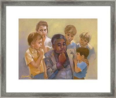 Dizzy Gillespie Embouchure Framed Print