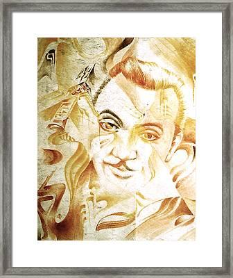 Django Reinhardt Framed Print by Jaabi Faarai
