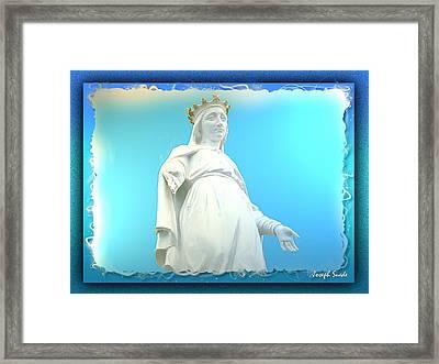 Do-00531 Our Lady Of Lebanon Framed Print