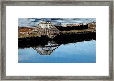 Do Not Stack Pots Here Framed Print by Susan Stephenson