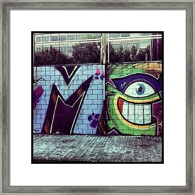 Do You See Me? Framed Print