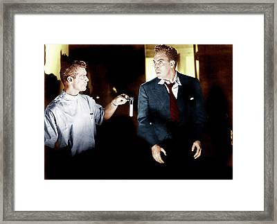 D.o.a., From Left Frank Gerstle, Edmond Framed Print by Everett